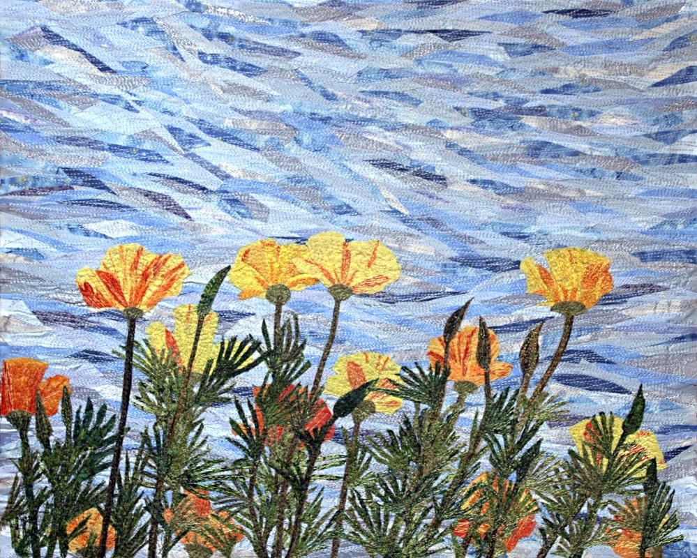 California Poppies by Loretta Alvarado